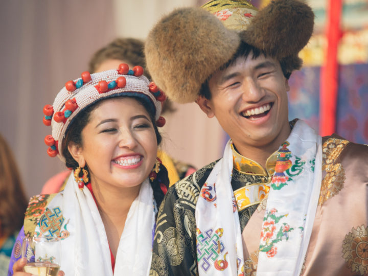 Casey + Chemi = Wedded Bliss Traditional Tibetan Buddhist Marriage